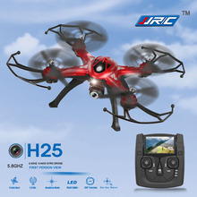 JJRC H25G 5.8G FPV 2.4GHz 4CH 6-axis Gyro 2.0MP HD Camera RC Quadcopter with One Key Return CF Mode 360 Eversion Function