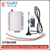 SNR6500 5W Wireless Transceiver Kit 470MHz RS485 SNR6500 Module 2pcs Antenna 2pcs Power Supply 2pcs USB