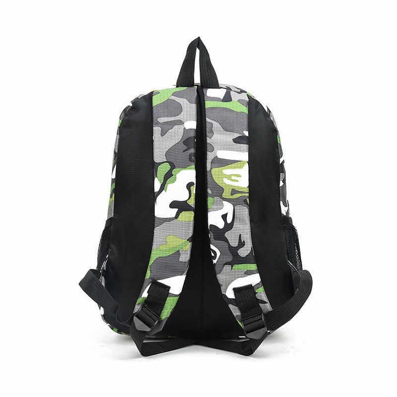 MoneRffi 2 размера камуфляжные водонепроницаемые школьные сумки для девочек и мальчиков Детский рюкзак для детей сумка для книг Mochila Escolar школьный