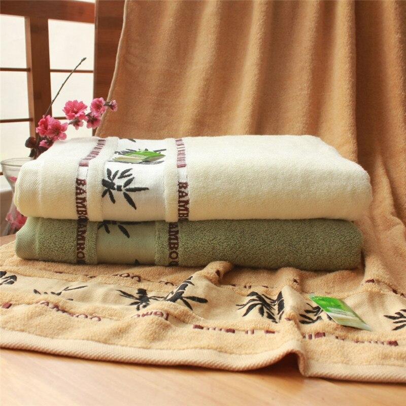 Novi 70x140cm bijeli ručnici od pamučnog ručnika za kupanje mekani - Tekstil za kućanstvo - Foto 3