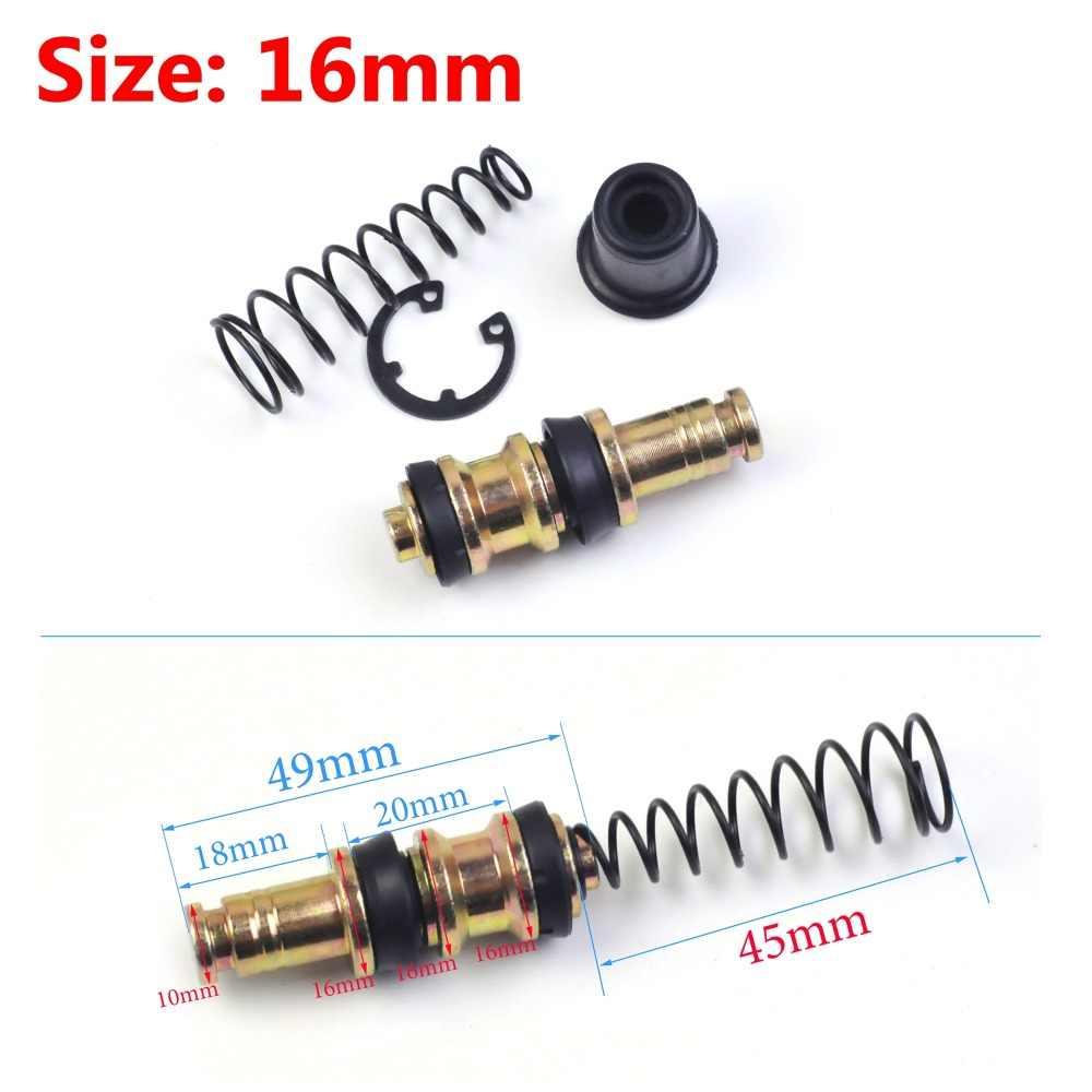 1 Set Motor Clutch Brake Pump 12.7 Mm 14 Mm 16 Mm Piston Plunger Perbaikan Kit Set Master Silinder Piston rig Perbaikan Aksesoris