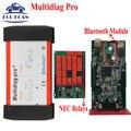 Multidiag Pro + Bluetooth NEC Реле V2015.01 Бесплатный Активность Как Tcs CDP Pro VCI Multi Diag MultiDiag Pro + 4 ГБ TF карты