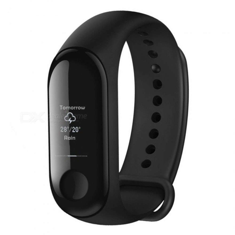 Image 2 - Global Version Xiaomi Mi Band 3 Miband 3 Smart Tracker Band Instant Message 5ATM Waterproof OLED Touch Screen Mi Band 3-in Smart Wristbands from Consumer Electronics