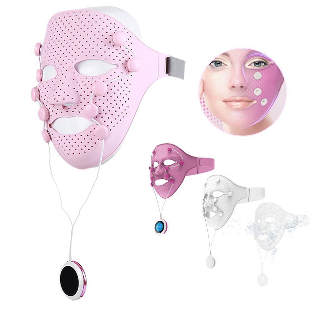Masseur électrique de beauté de Vibration rapide masque de levage de visage V visage Anti-rides mince Massage Facial SPA menton joue soulever le masque Facial