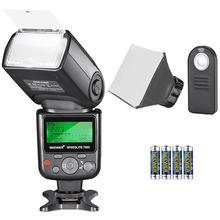 Neewer 750II ttl Speedlite Flash Kit для Nikon с ИК беспроводной пульт дистанционного управления AA батарея диффузор для Nikon D7200 D7100 D7000