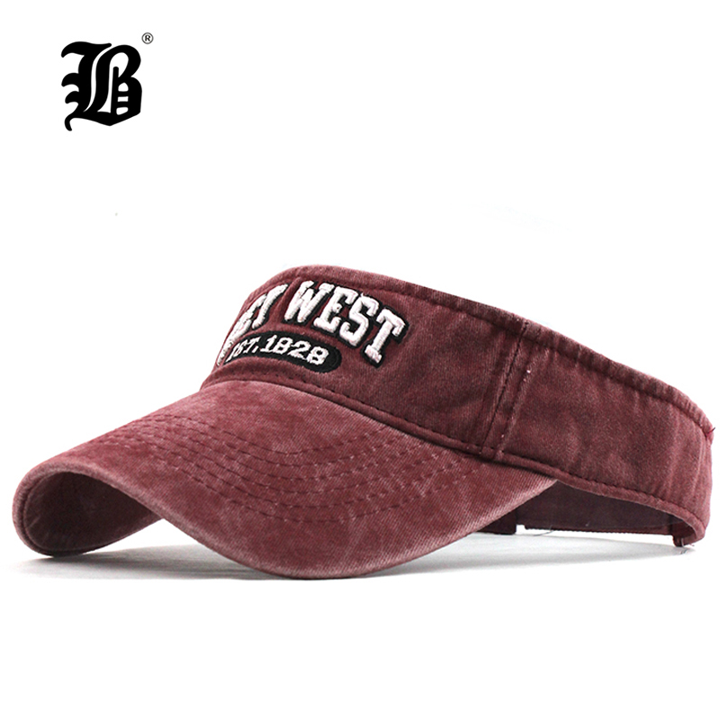 [FLB] Summer Fashion Sport Washed Baseball Caps For Women Men Cotton Sun Cap Snapback Gorras Casquette Casual Empty Top Cap F345