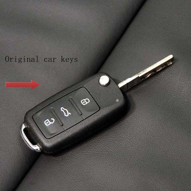 Funda de silicona para llave de coche para VW polo Volkswagen passat b5 golf4 5 6 jetta tiguan Golf CrossFox más allá de esa carcasa de llave de escarabajo