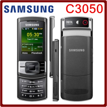 C3050 Original Unlocked Samsung C3050 2.0 Inches GPRS GSM Cheap Refurbished Mobile Phone Free Shipping