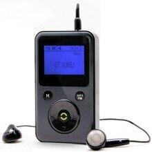 DAB/DAB + радио PPM001 мини портативный fm-радио СВЕТОДИОДНЫЙ фонарик, поддержка карты ПАМЯТИ для воспроизведения MP3, USB порт, аккумуляторная батарея