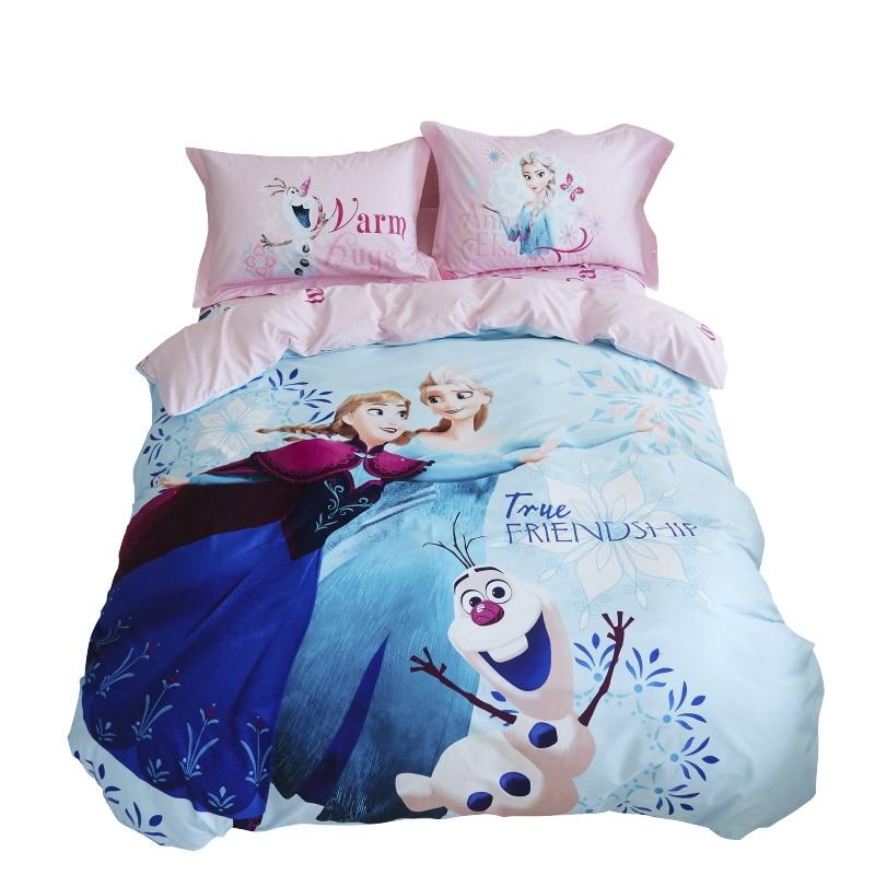 Cheap Bedroom Sets Kids Elsa From Frozen For Girls Toddler: Disney Elsa And Anna Princess Frozen Bedding Set Twin Size