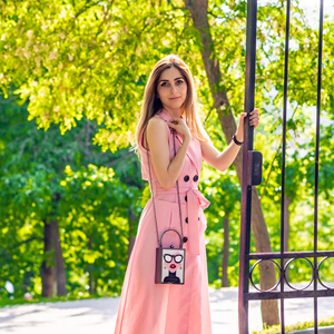 Image 3 - ブティックデfgg女性ファッショントートハンドバッグホワイトアクリルイブニング財布メガネ女の子チェーンクラッチヴィンテージパーティークロスボディバッグ