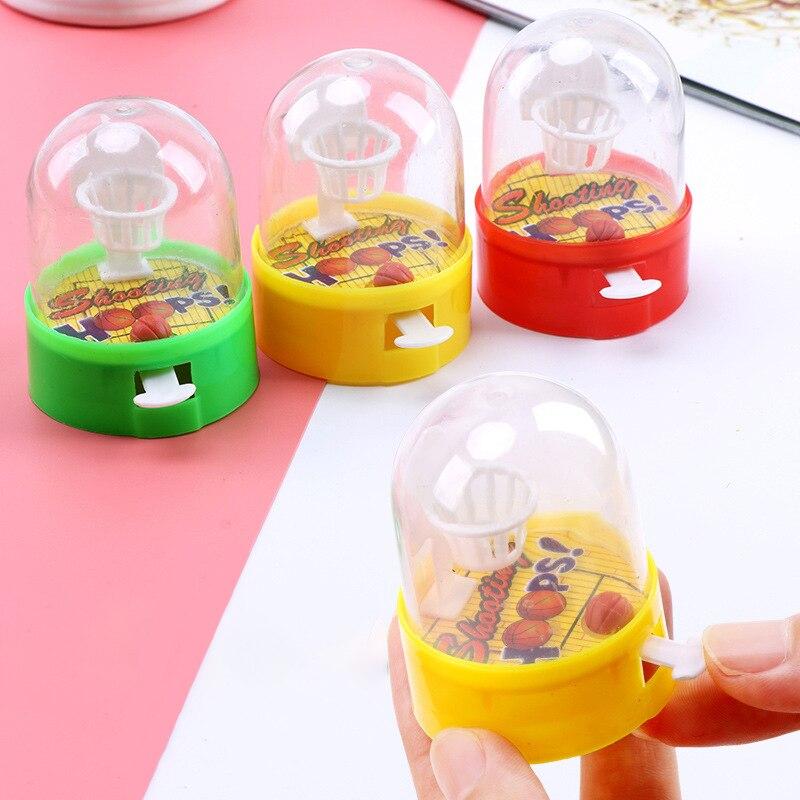 Mini Finger Shooting Basketball Toys Developmental Basketball Anti-stress Player Handheld Toys For Children Baby Funny Gift