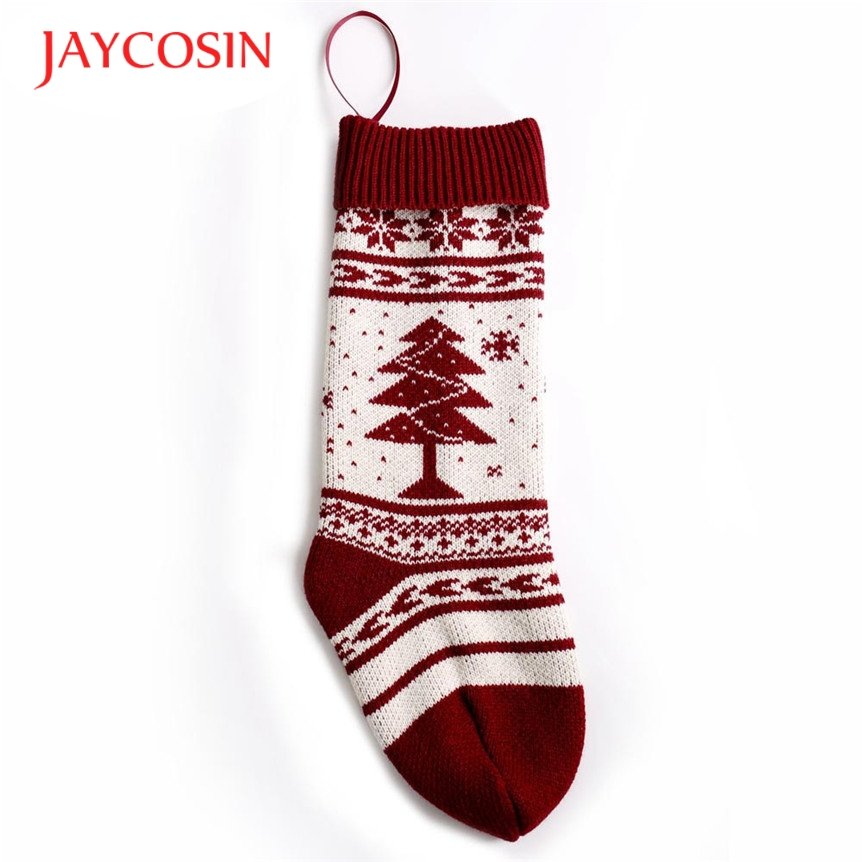 New Fashion  Coolbeener Christmas Sack Gift Filler Decoration Sock dec29 Drop Shipping