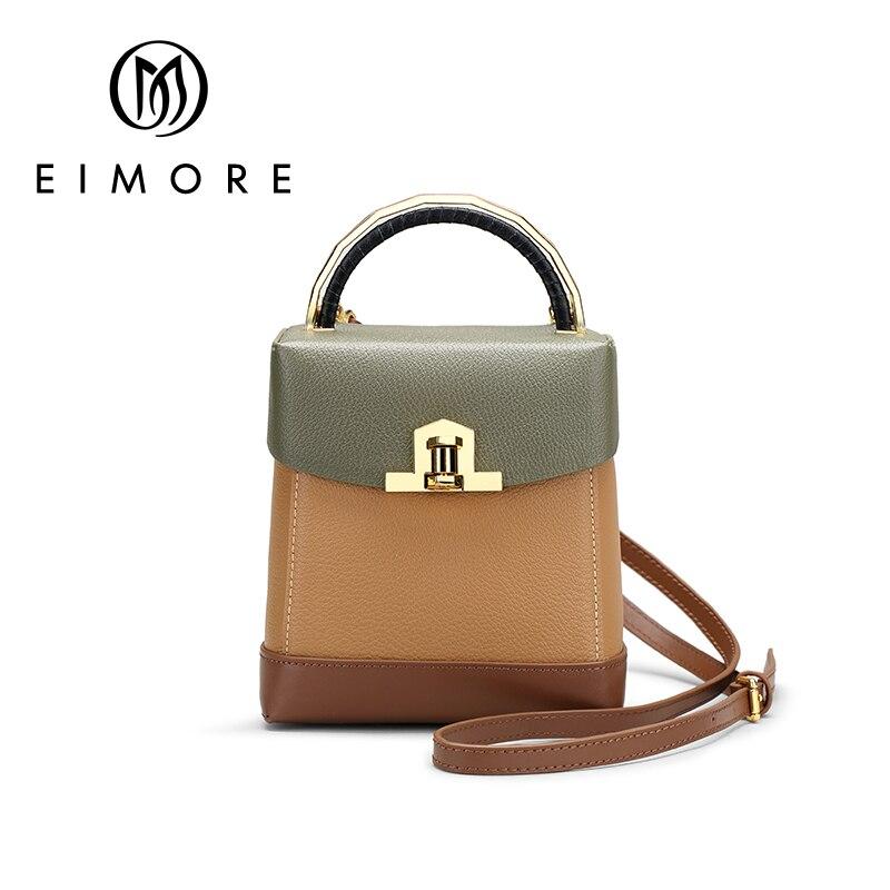 EIMORE Girls Shoulder Bags For Female Samll Crossbody Bags Genuine Leather Women s Mobile Phone Bag