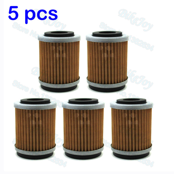 Yz426f Big Bore Kit Yz426f Yz426: 5pcs/pack Oil Filter For YZ426F YZ250F YZ400F TTR250