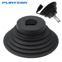 Flintzen האוניברסלי LED פנס רכב אבק כיסוי גומי עמיד למים Dustproof איטום פנס מכסה המכונית אור אביזרי H1 H4