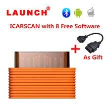 השקת ICARSCAN סופר Easydiag 3.0 אנדרואיד/IOS מלא מערכת עם 10 רכב אבחון תוכנה אותו תפקיד כמו השקת X431 V