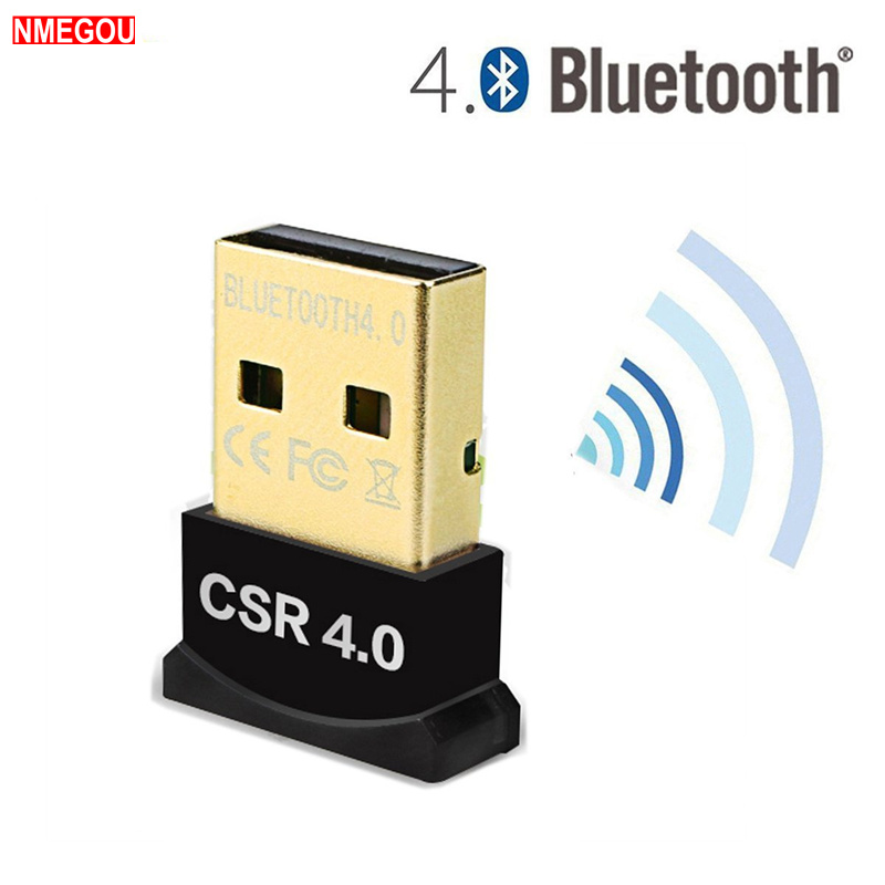 Mini USB Wireless Bluetooth CSR 4.0 Dual Mode Adapter Dongle Driver for Windows 10 8 7 Vista XP Linux PC V4.0 Blue Tooth Adapter