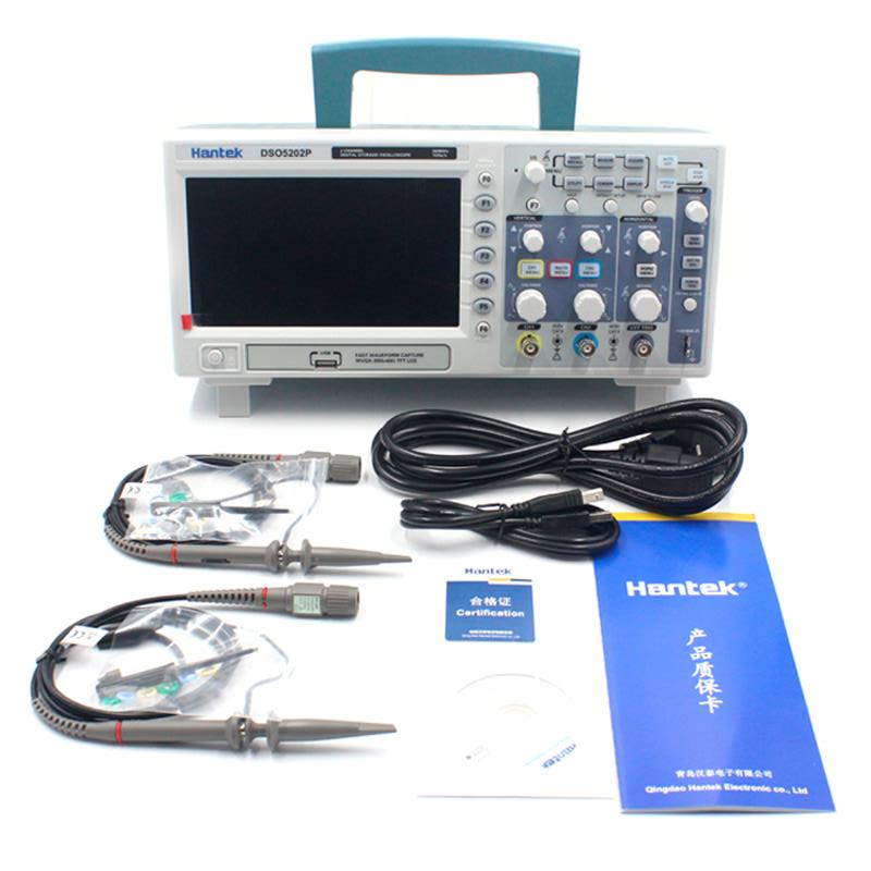 Digital Oscilloscope Pc : Hantek dso p digital oscilloscope portable channels