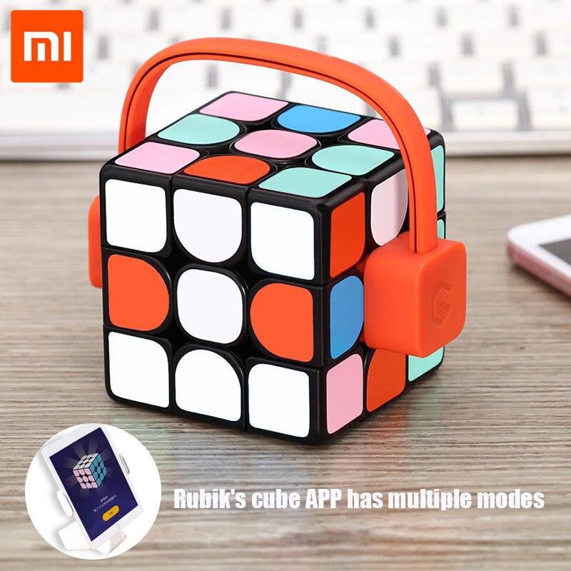 Xiaomi mijia Giiker Супер смарт cube приложение пульт comntrol Профессиональный Magic Cube Пазлы красочные Развивающие игрушки для парня девушку