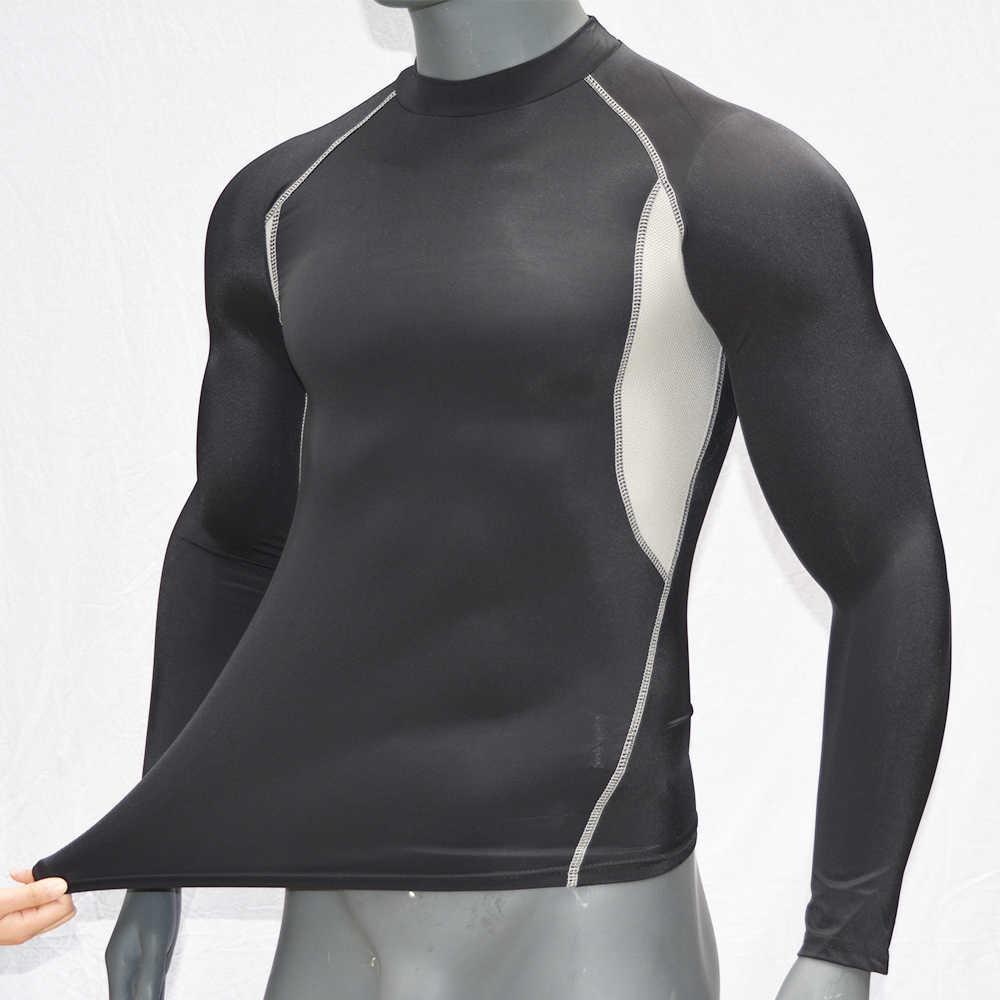 Hitam-Lengan Panjang/Bernapas Surf Ruam Penjaga Kemeja UPF 50 Cepat Kering Top Baju Renang K Berlaku 2019 Surfing T kemeja untuk Kolam
