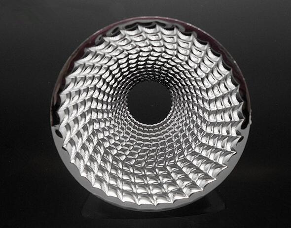 #XEU-42 High quality COB Reflective Cup, Size: 42X21.7mm, 36 degree, Clean Surface, PC Materials , Aluminum Coating