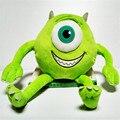 Venta CALIENTE 33*20 cm Monster Monsters Inc monsters Universidad Mike Wazowski de peluche de felpa muñecas solf juguetes para los niños regalos de navidad
