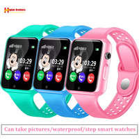 Smart GPS Location SOS Call Remote Monitor Camera Wristwatch Tracker Kids Child Students Bluetooth Music SIM TF Card Phone Watch