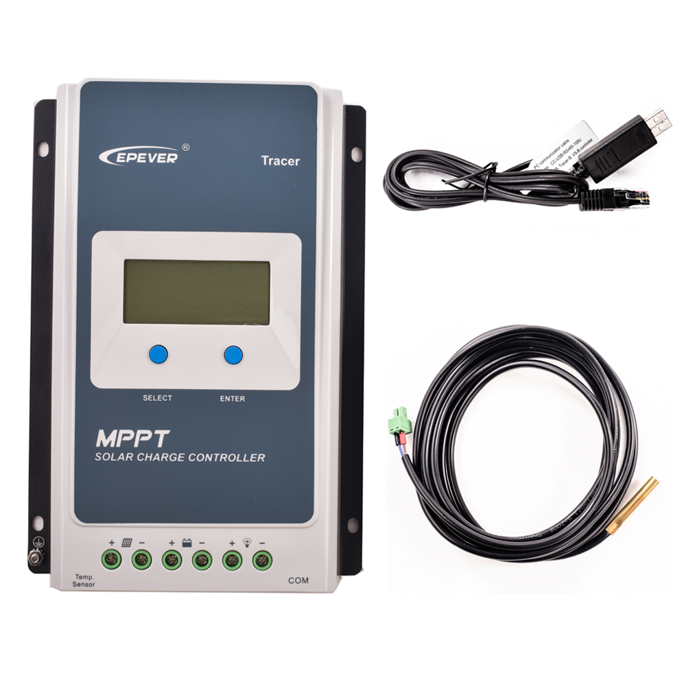 EPEVER Regulator Tracer 3210AN MPPT Solar Charge Controller 30A electronic Over Charging Protection Controller 12 24V