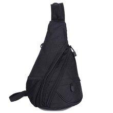 Hochwertige Neue Männer Nylon Schulter Messenger Assault Reisetasche Marke Militärischen Reiten Männlichen Brust Wasserdicht Zurück Tag Pack