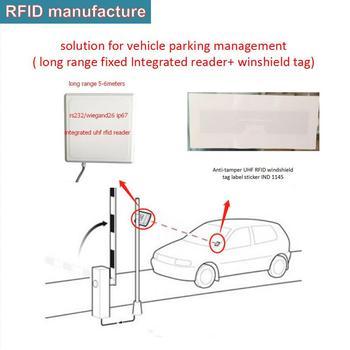 UHF RFID lector wiegand TTL Uart interfaz/epc gen2 iso alta calidad ip67 902-928 MHz al aire libre rfid lector de control de acceso de coche
