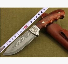 Hot Selling Hunting Knife Survival Knives  Imported Pure Manual Forging Boutique Collection Small Straight Knife