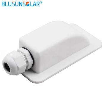 10 piece/lot Waterproof UV-resistant ABS single hole cable entry gland for caravan/Roof/motor home/Boat