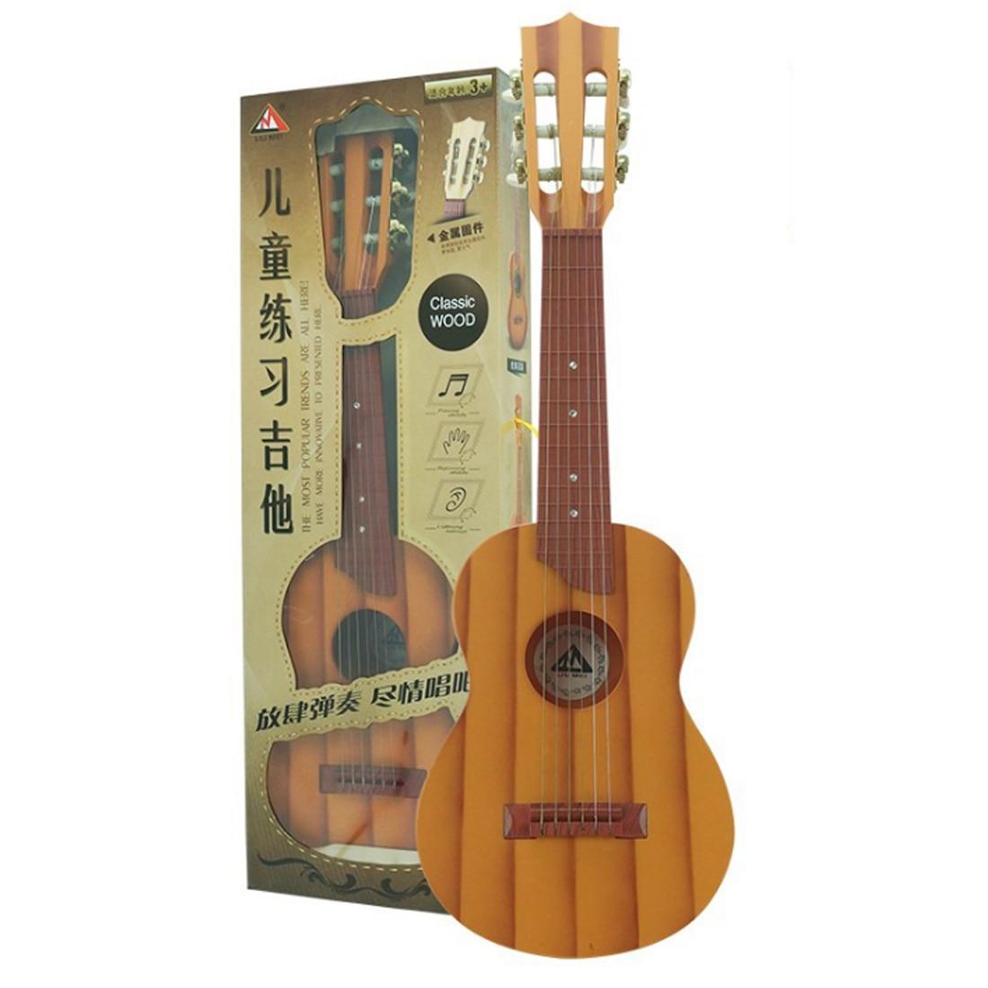 Nouveau haute qualité 138 série Simulation 6 cordes ukulélé jouets pour Instrument de musique éducatif précoce