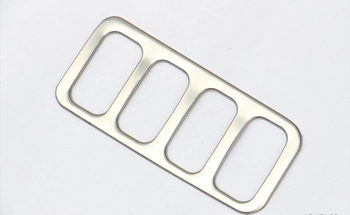 Auto inerior accessories, light switch button trim,inner car styling for Mitsubishi asx,stainless steel , car styling