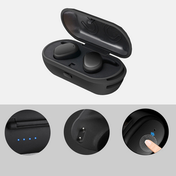 Marsnaska Không Dây Cảm Ứng Không Thấm Nước Earbuds Mini Thể Thao Tai Nghe Bluetooth 4.1 Tai Nghe Với Ngân Hàng Điện cho iphone và andriod