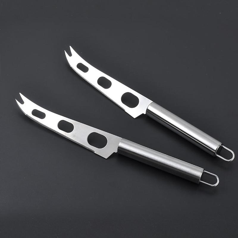 Многофункциональные кухонные принадлежности с 3 отверстиями, 1 шт., круглая ручка, нож для сыра, пиццы, сыра, масла, резак, инструменты для вып...