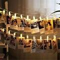 1 5 м 10 шт. светодиодная Рождественская гирлянда для фото в стиле феи  СВЕТОДИОДНАЯ Гирлянда для свадьбы  Новогодние рождественские украшени...