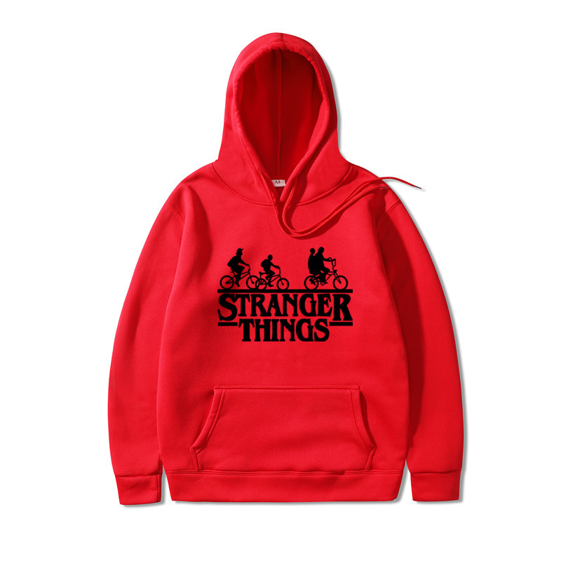 2019 New Stranger Things Men's Casual Hoodie Sweatshirts Stranger Things Sweatshirt Hoodies Men Women Hip Hop Japanese Hoodies