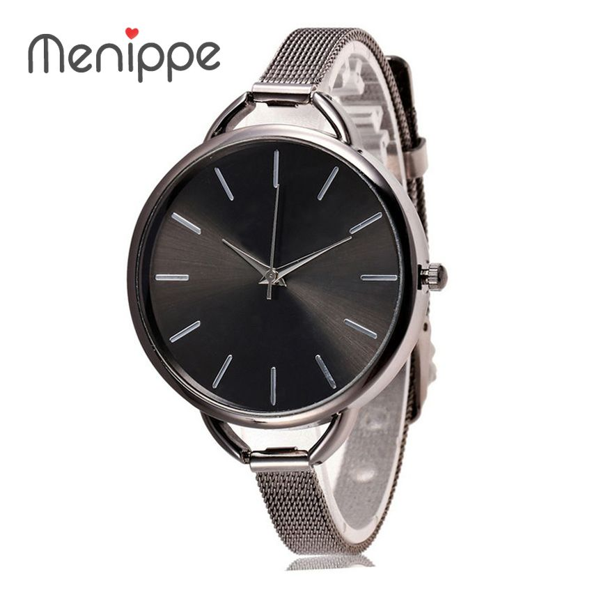 2020 New Brand Menippe Relogio Feminino Clock Women Watch Stainless Steel Watches Ladies Fashion Casual Watch Quartz Wristwatch