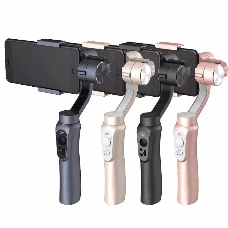 Zhi yun Zhiyun Liscia Q 3-Axis Handheld Gimbal Stabilizzatore per iphone HUAWEI Sumsung Gopro