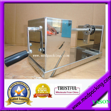 ФОТО Stainless Steel Spiral Manual Potato Chips Slicer Cutter YS-130