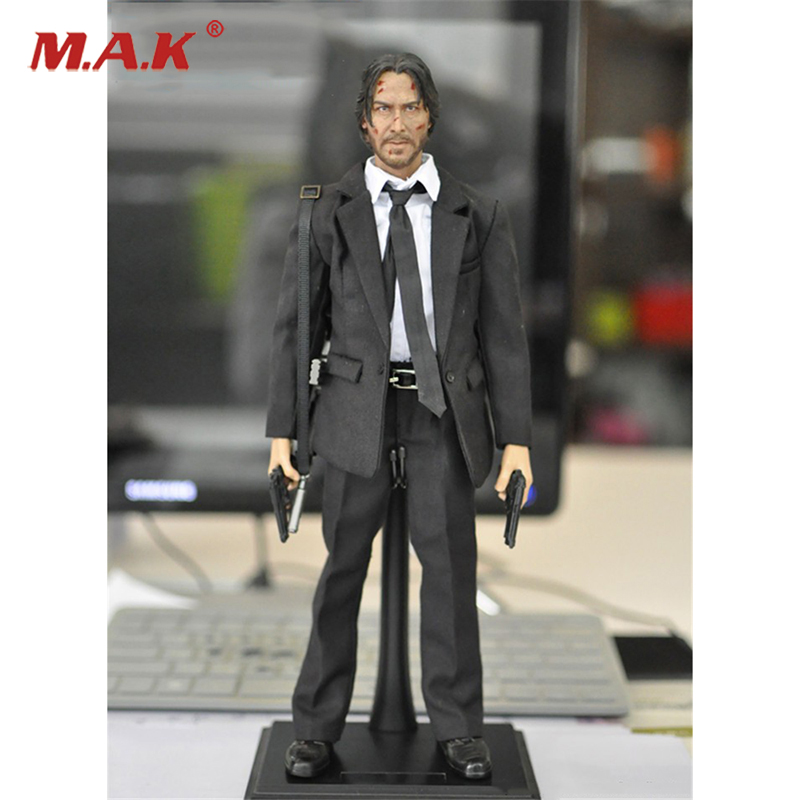 1:6 KMF037 John Wick Retired Killer Keanu Reeves Action Figure for Collections 1 6 scale full set male action figure kmf037 john wick retired killer keanu reeves figure model toys for gift collections
