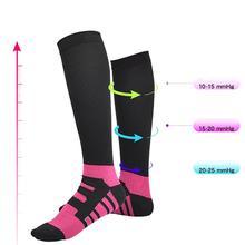 Быстросохнущие Компрессионные носки повседневные стильные гольфы/длинные впитывающие пот Чулочные изделия марафон беговые футбольные кроссовки носки