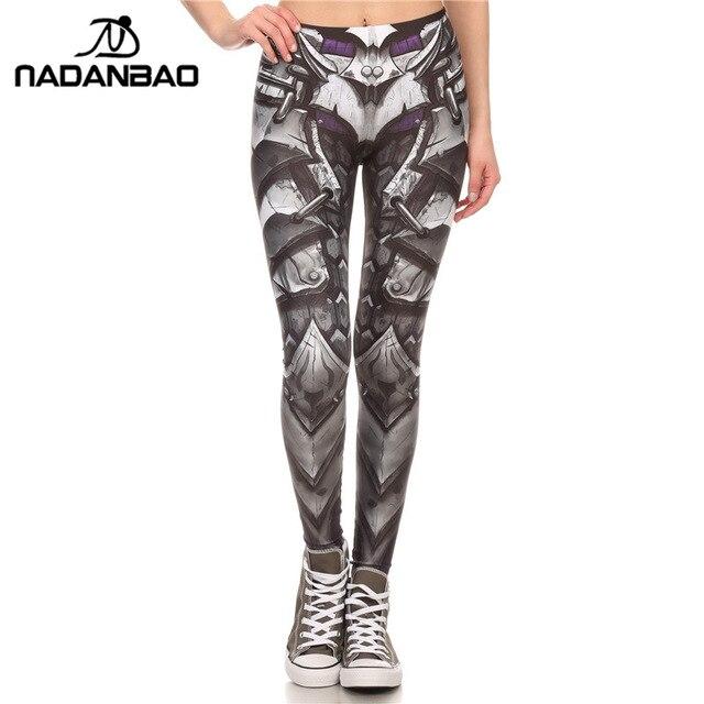 NADANBAO Brand New BARBARIAN Skull Women Leggings Printed Leggins  Woman Pants 5