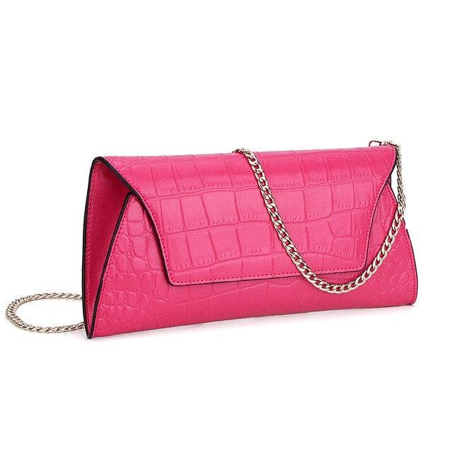 Famous Brand Designer Luxury Alligator Genuine Leather Women Wallet Long Purse Celebrity Day Clutch Bag Handbag