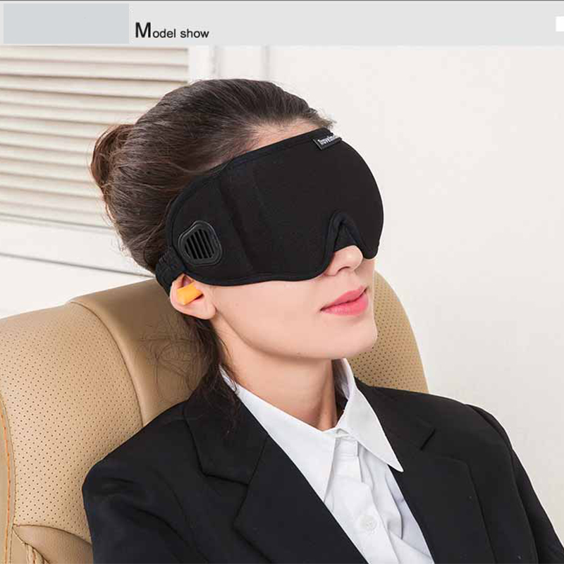 Newest 3D Sponge EyeShade /out all light/ Sleeping Eye Mask Cover eyepatch blindfolds for health care to shield the light