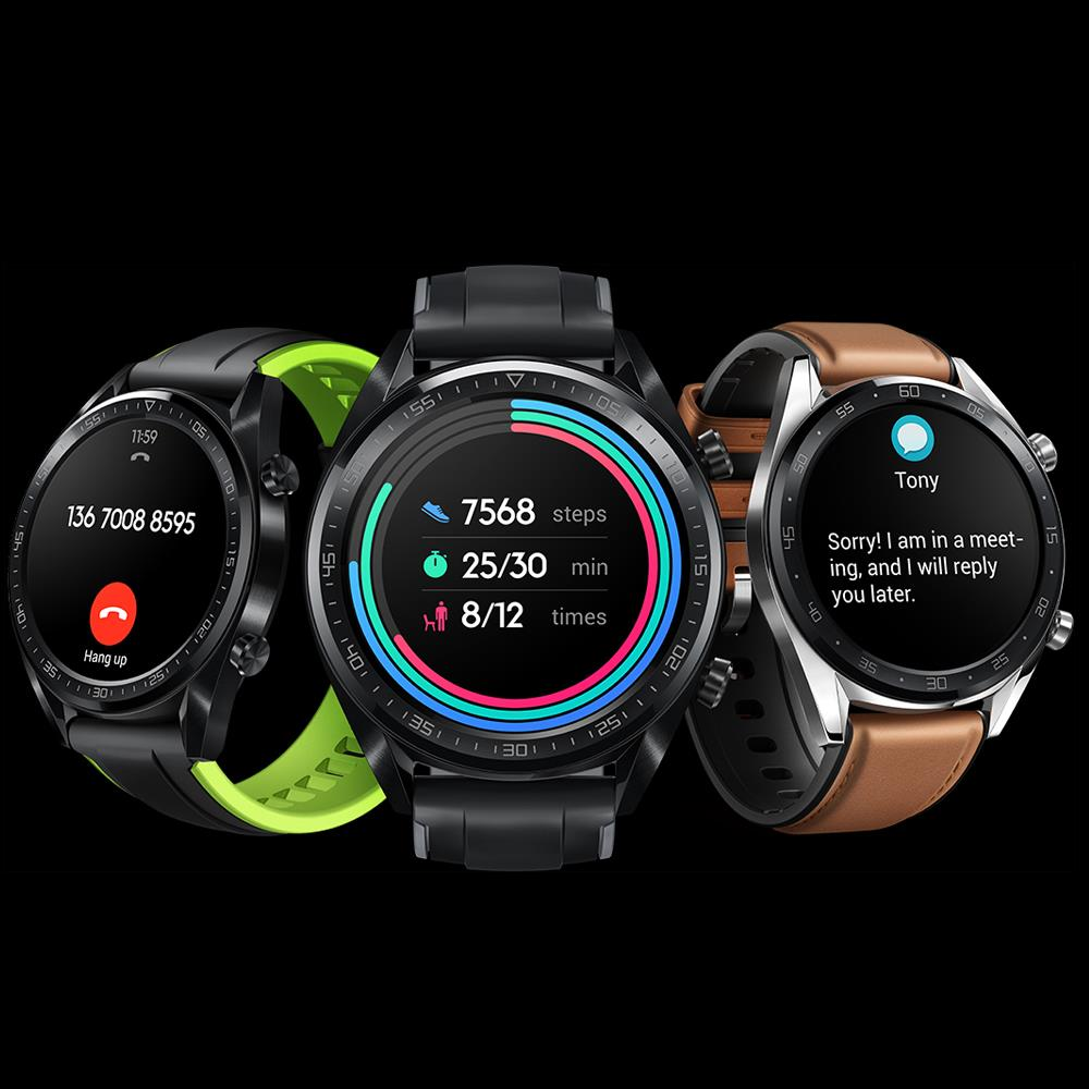 Image 4 - Huawei Watch GT Smart watch water proof Phone Call Support GPS Heart Rate Tracker For Android iOS-in Smart Watches from Consumer Electronics