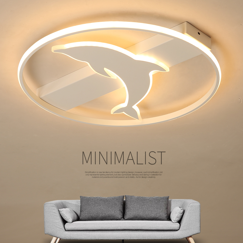 Brand new modern LED ceiling light for living restaurant bedroom with remote control luxury square round acrylic ceiling light