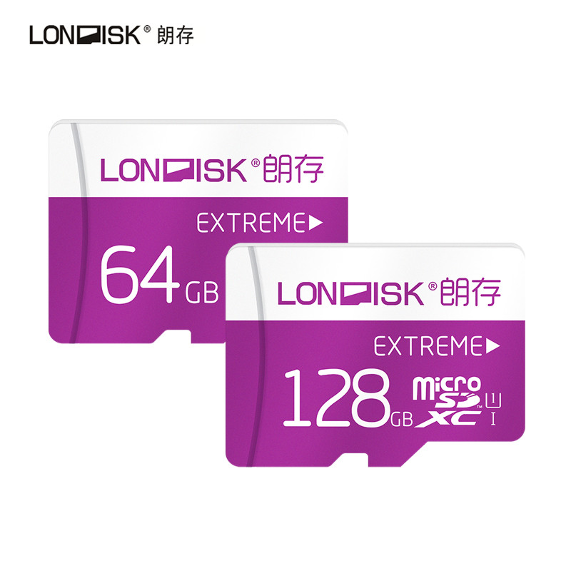 Prix pour Londisk nouveau certifié carte mémoire véritable capacité carte micro sd 600x64 gb 128 gb class10 uhs-1 carte mémoire flash mémoire carte
